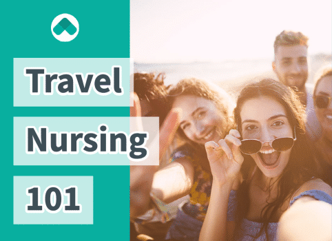 Travel Nurses in a group